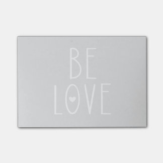 Be Love Heart Post-it Notes