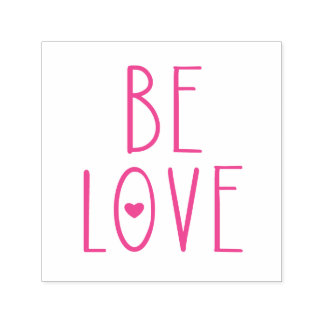 Be Love Heart Self-inking Stamp