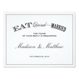 Be Married | RSVP Postcard