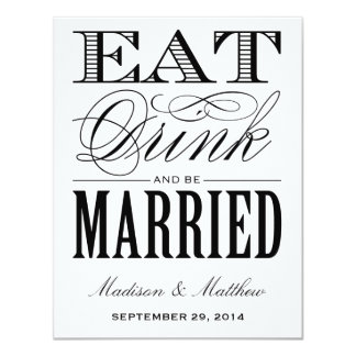 Be Married | Save the Date Postcard