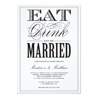 Be Married | Wedding Invitation