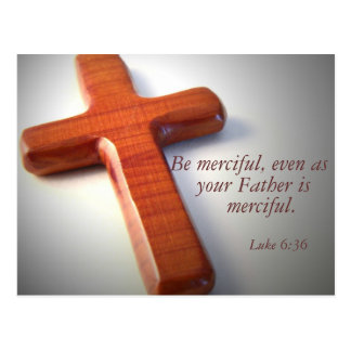 Be Merciful Postcard