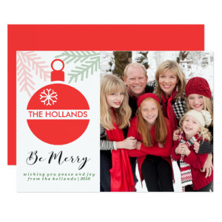 Be Merry Christmas Cards | CHSRITMAS