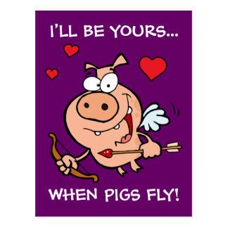 Be Mine Anti-Valentine's Postcard