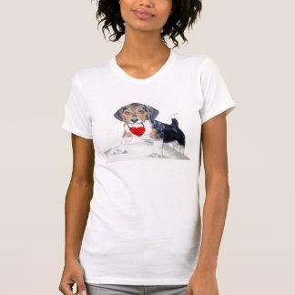 Be MIne Bagel the Beagle Womens Shirt