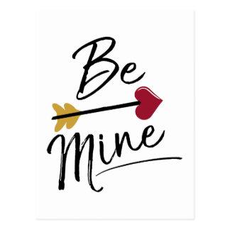 Be mine Cute Valentines Postcard