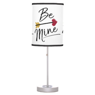 Be mine Cute Valentines Table Lamp