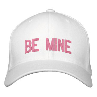 BE MINE EMBROIDERED HAT