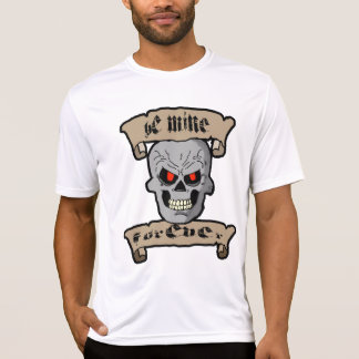 Be Mine Forever Skull and Scrolls Shirt