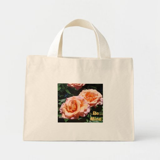Be Mine gifts Valentines Tote Bags Rose Totes