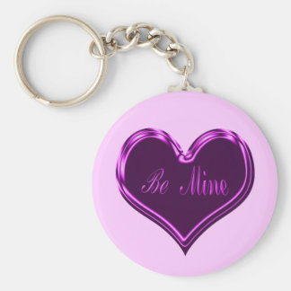 Be Mine Heart Keychain