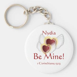 Be Mine Key Chain - Customized