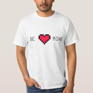 Be Mine Pixelated Heart shirt