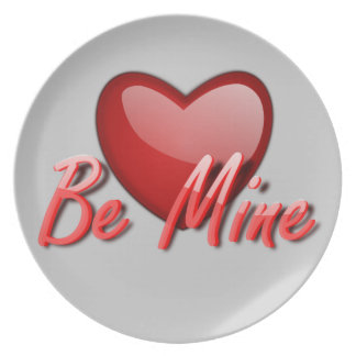 Be Mine Plate