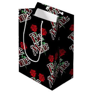 Be Mine Rose Medium Gift Bag