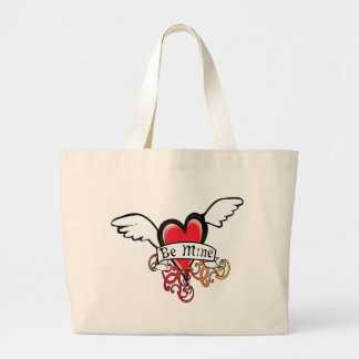 Be Mine Valentine Tote Bags