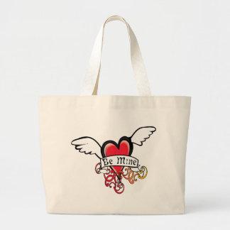 Be Mine Valentine Jumbo Tote Bag