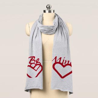 Be Mine Valentine scarf