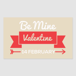 Be Mine Valentine Sticker