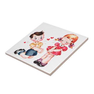 Be Mine - Valentine Tile