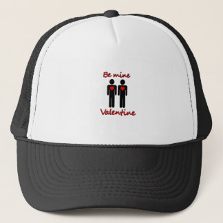 Be mine Valentine Trucker Hat