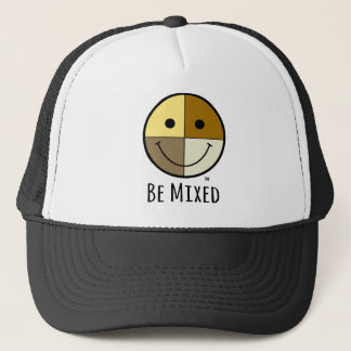 Be Mixed - Smiley Face Trucker Hat