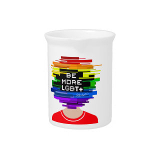 Be More LGBTQ Be More Chill Design Pitcher