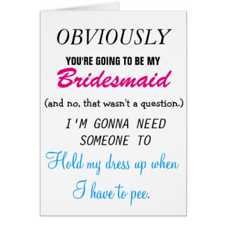 Be my Bridesmaid - Future Sister-in-law Card