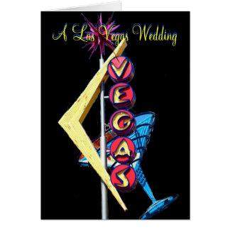Be My Bridesmaid Las Vegas Wedding Note Card