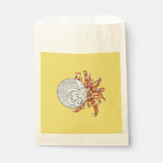Be my flower favour bag