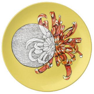 Be my flower porcelain plates
