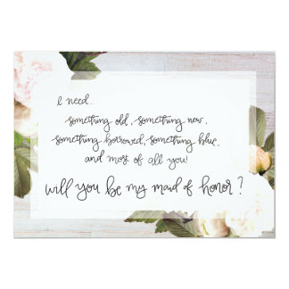 Be My Maid of Honor | Bridal Party Asking Card