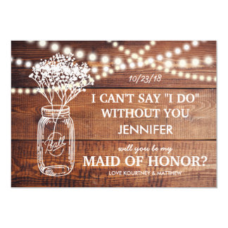 """BE MY MAID OF HONOR 