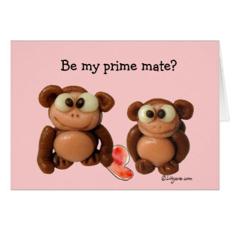 Be My Prime Mate? Valentine Card