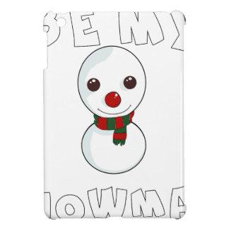 be my snowman iPad mini cases