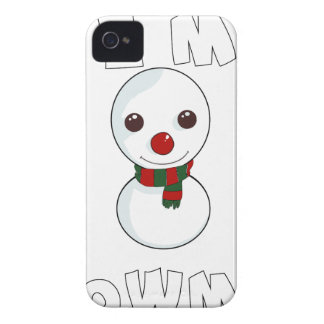 be my snowman iPhone 4 Case-Mate cases