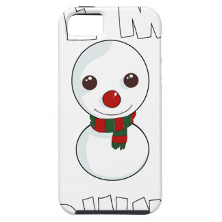 be my snowman iPhone 5 cover
