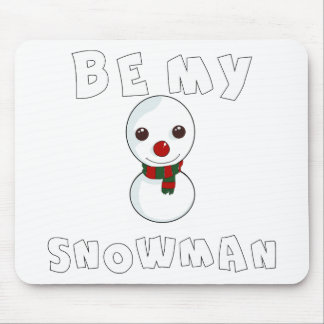 be my snowman mouse pad