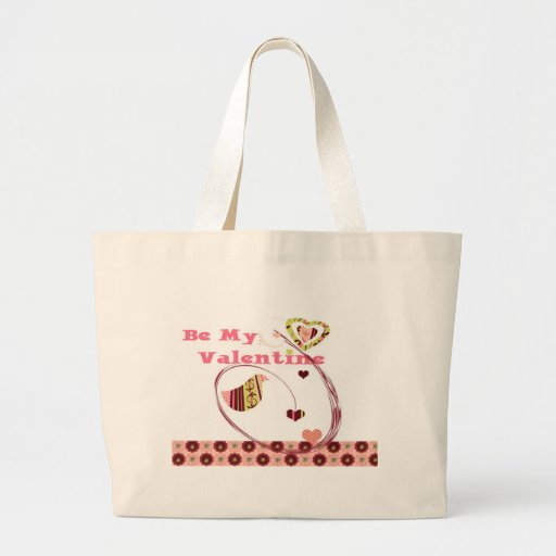 Be My Valentine Canvas Bag