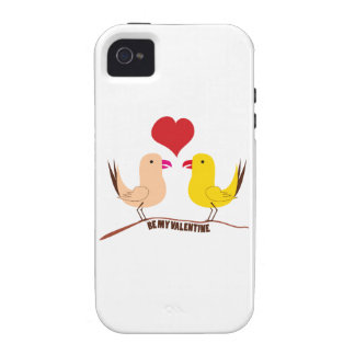 Be My Valentine Vibe iPhone 4 Cover