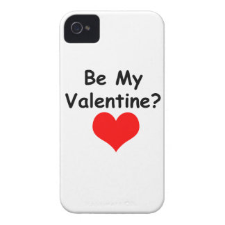 Be My Valentine? iPhone 4 Case-Mate Case