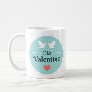 Be My Valentine Doves Coffee Mug