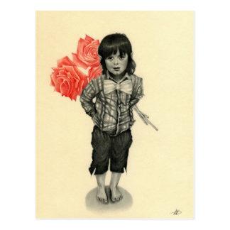 Be my Valentine elf boy Postcard