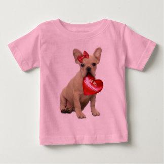 Be My Valentine French Bulldog Toddler T-shirt