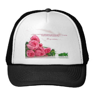 be my Valentine. Hat
