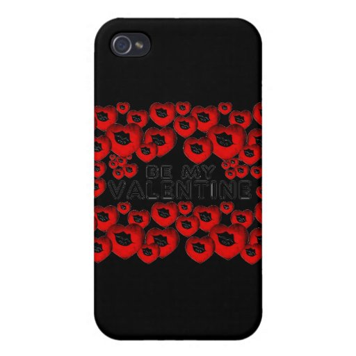 Be My Valentine iPhone 4 Cover
