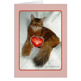 Be My Valentine Kitty Card