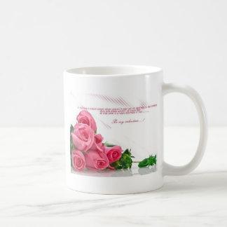 be my Valentine. Mug