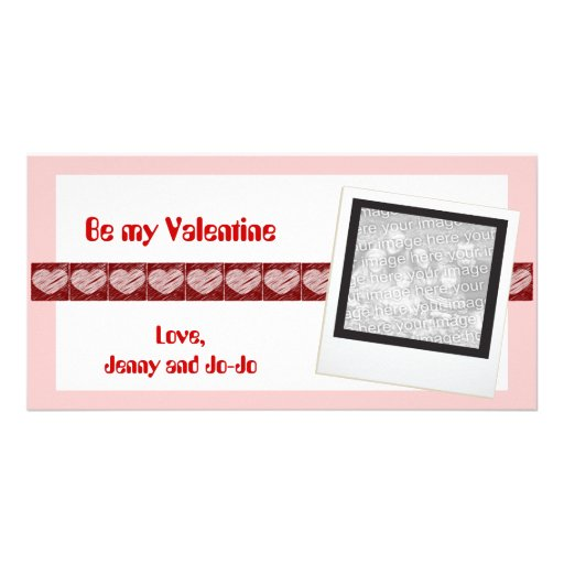 Be my Valentine Photo Cards