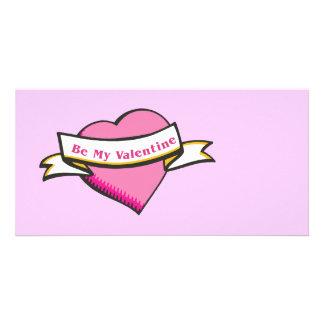 Be My Valentine Stationery Photo Cards